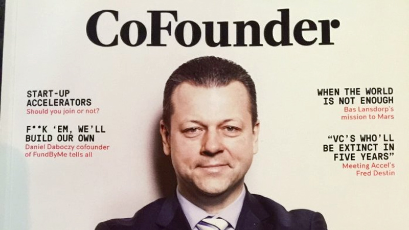 Important day for Latvia - Janis Siklis article @ CoFounder magazine Slush 2015 edition