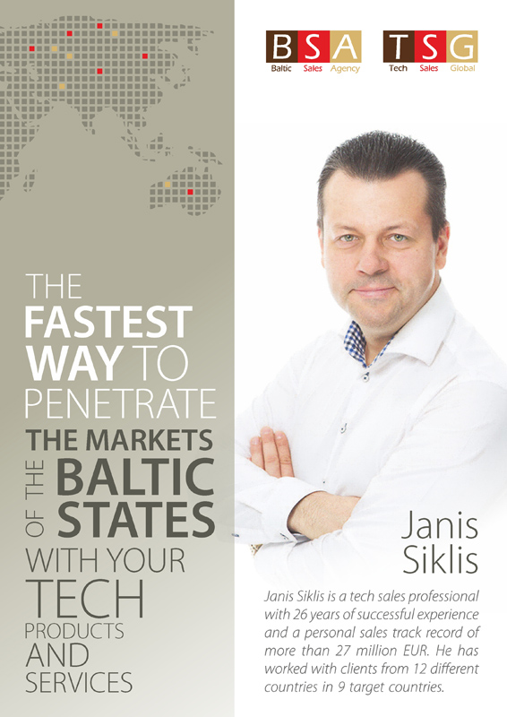 The fastest way to penetrate the markets of the Baltic States with your tech products and services