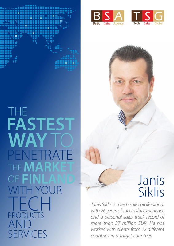 The fastest way to penetrate the market of Finland with your tech products and services